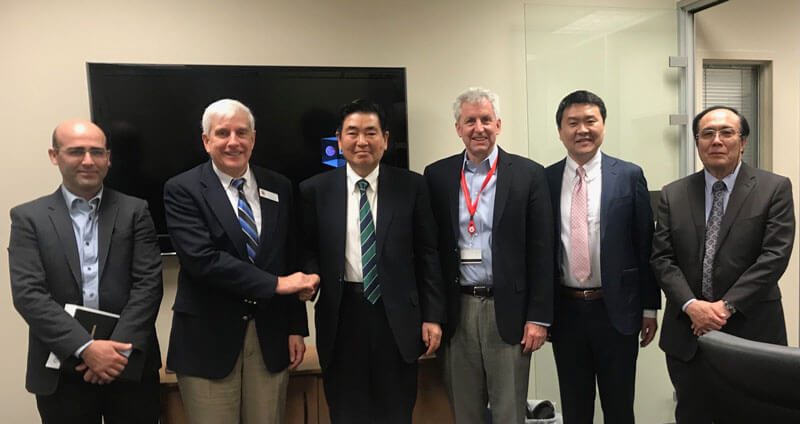 Overseas development meetings