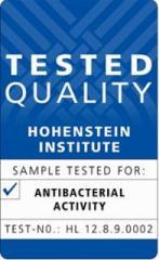 ホーエンシュタイン研究所から 発行された認定タグ